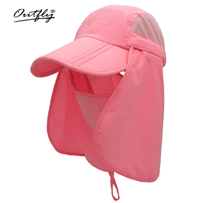 3225fdb4e outfly Face visor sun hat outdoor trip sunscreen artifact Cool breathable  fabric Sun protection UV protection Wind and dust