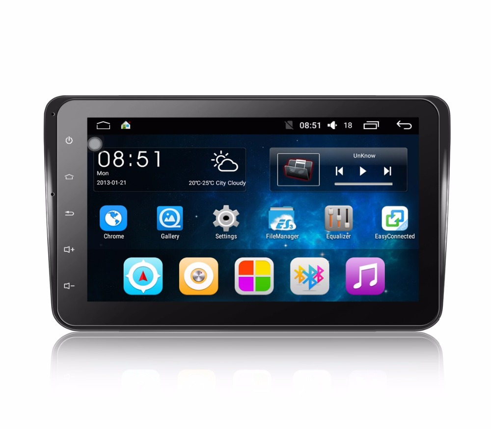 8001 Android 6.0.1 Car Multimedia Player 8-Inch Quad-Core 1024*600 Full HD Touch Screen Player With GPS WiFi For VW