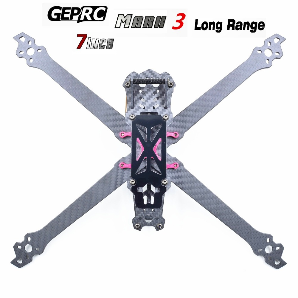 100% Original GEPRC GEP Mark3 Mark 7inch drone frame Freestyle Mark3 long range 7inch carbon fiber frame for DIY Quadcopter