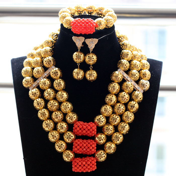 Fashion Gold Costume Jewelry Sets Coral Pendant Necklace Bracelet Earrings Set Women Party Necklace Set Free Shipping WE087Fashion Gold Costume Jewelry Sets Coral Pendant Necklace Bracelet Earrings Set Women Party Necklace Set Free Shipping WE087