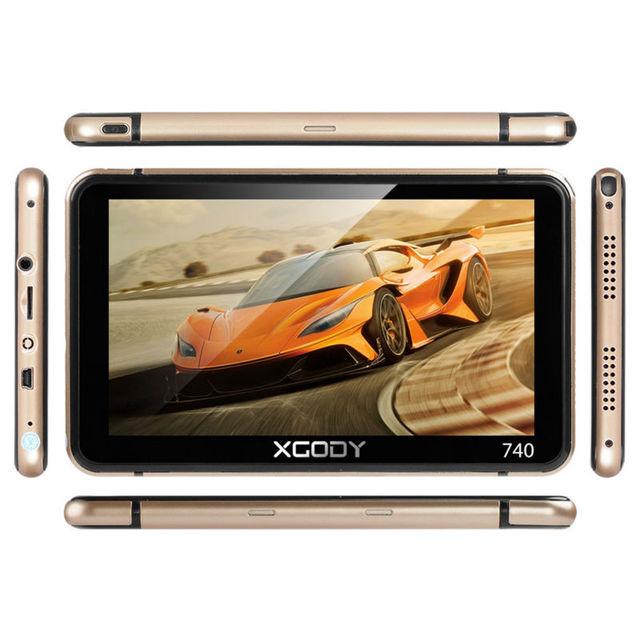 XGODY Car Truck GPS Navigation 7 Inch Vehicle Gps Truck 128MB+8GB 7'' HD Auto GPS Navigatie Capacitive Screen Speedcam Navigator