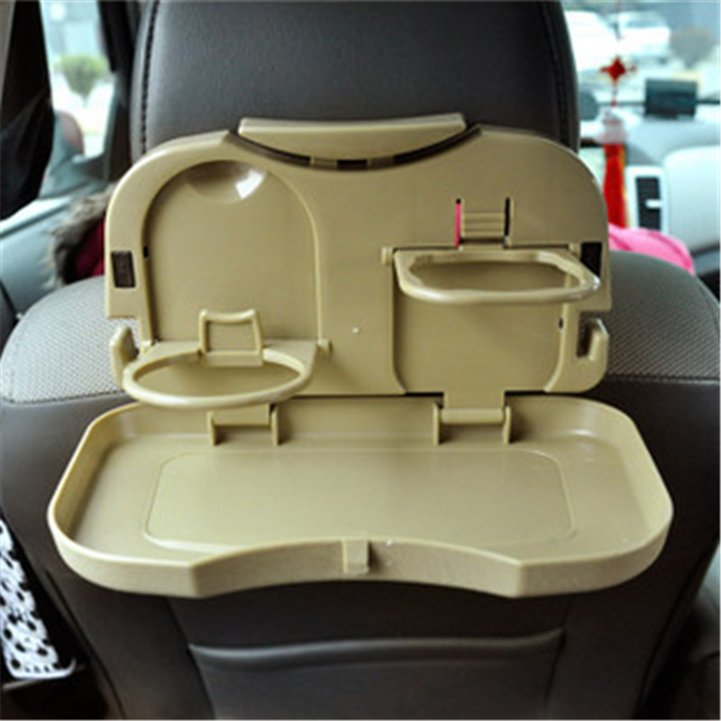 Car Stand Seat Beverage Water Multi Food Tray Table Car Drink Holder Travel mount 3colour 1pc Auto Accessories Car-Styling