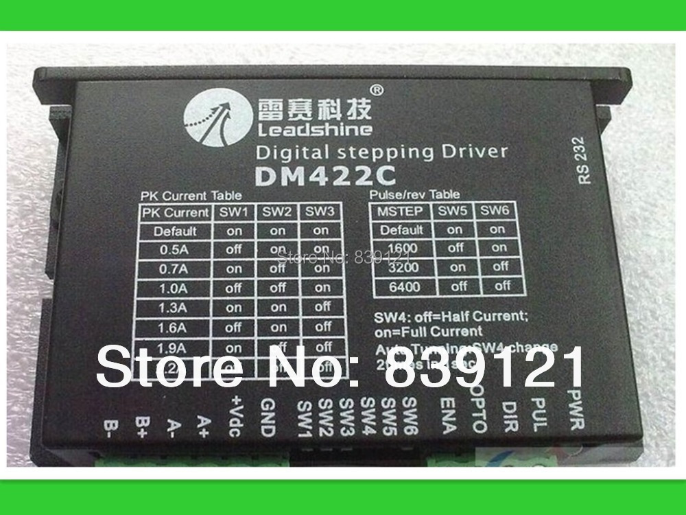 Hot sell Original Leadshine DM422C 2 phase step motor driver for high quality promotion salesHot sell Original Leadshine DM422C 2 phase step motor driver for high quality promotion sales