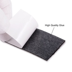 Image 2 - EHDIS 100Pcs ฟิล์มไวนิลรถ Wrap Folie ผ้าผ้า 10 ซม.คาร์บอนไฟเบอร์ไม้กวาดหน้าต่าง Tint Scraper อะไหล่ Protector Felt