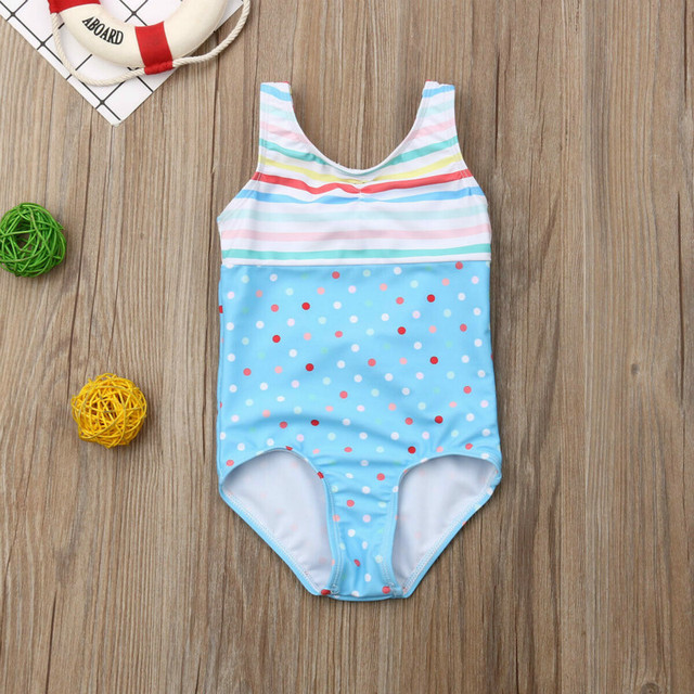 0-5T Super Cute Baby Girls One-piece Cartoon Swimsuit Little Girl Bikini Set Swimwear Swimsuits Bathing Suit Swimming Clothing | healthy feet socks