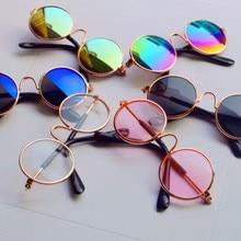 b26d5f69bcefef 1 Pcs Poupée Accessoires Ronde En Forme de Rond Lunettes Verres Colorés  lunettes de Soleil Adapté · 6 Couleurs Disponibles
