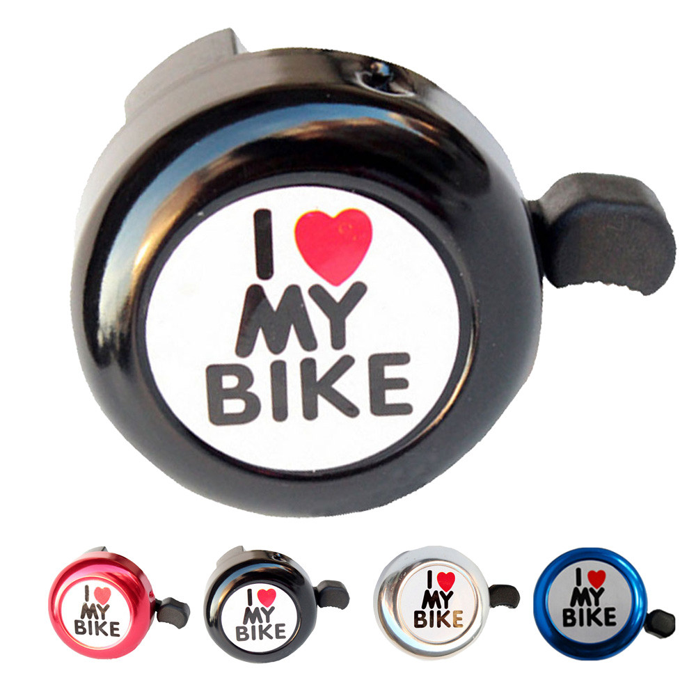 Confident Muqgew New Arrival Useful Bicycle Bell Heart Alarm Bike Metal Handlebar Horn Professional Bicycle Accessories Bell Ring