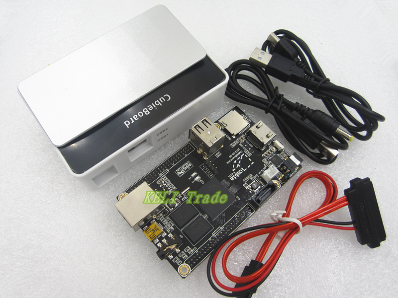 1kit Raspberry Pi Enhance Version Mini PC Cubieboard 1GB ARM Development Board Cortex A8