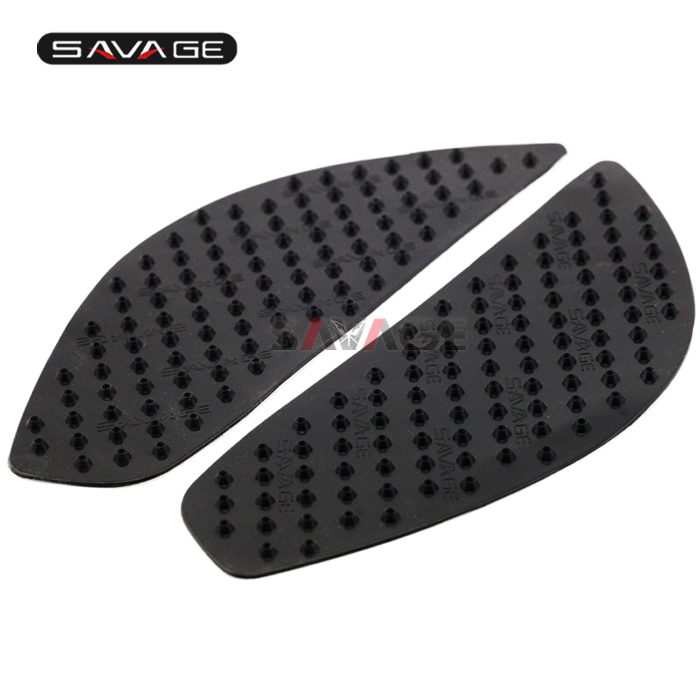2020 Tank Traction Pad For YAMAHA MT 09 Triple <font><b>FZ</b></font> 09 FJ09 850 Motorcycle Accessories Side Anti Slip <font><b>Stickers</b></font> 3M Knee Protector image