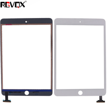 цена на Original For iPad mini 3 Touch Screen Digitizer assembly with ic connector Front Glass
