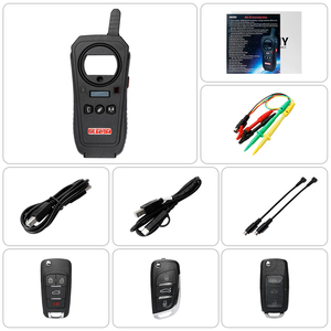 Image 5 - OBD2 keydiy Car Diagnostic Tool KD X2 kd X2 Remote Maker Unlocker with Free ID48 96bit Transponder Copy Function English Version