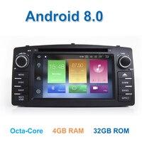 Android 8,0 DVD мультимедиа плеер радио gps для TOYOTA Corolla E120 e 120 BYD F3 с Wi Fi стерео Bluetooth