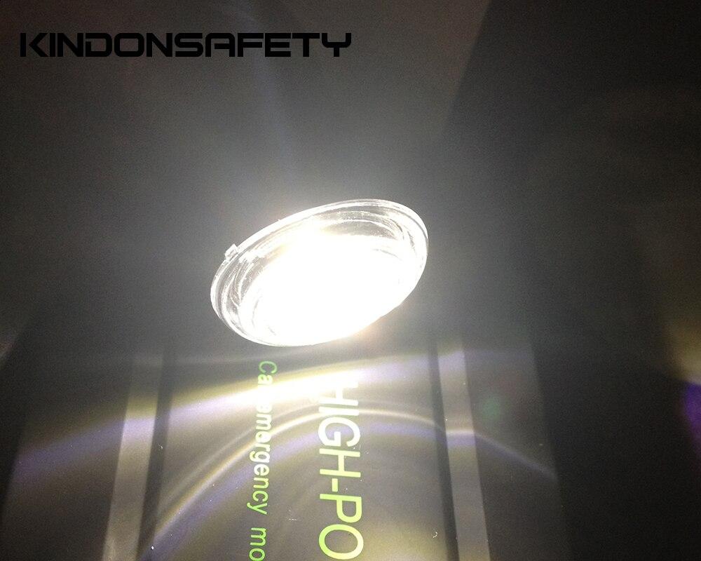 E-MARK светодиодный фонарь переднего положения VC30-FP с 1 шт. SMT СВЕТОДИОДНЫЙ s, излучающий белый светильник, PMMA прозрачные линзы, DC9-33V