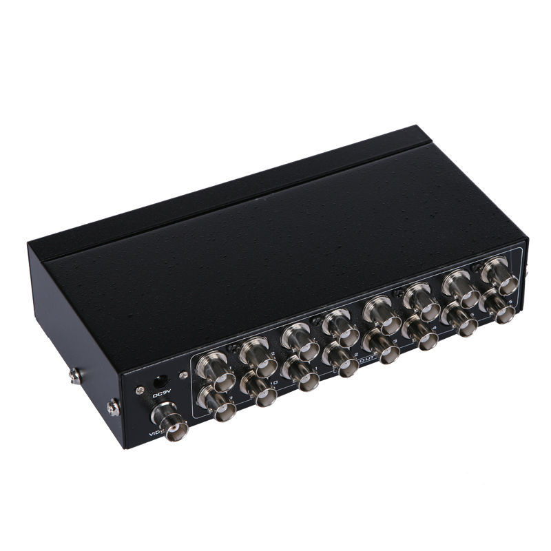 MT-VIKI 16 Port BNC Splitter Box 1 into 16 Video Distributor Multipler MT-1016BC for Security CCTV Camera DVR