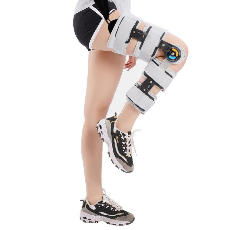 Cheville pied orthèse genou Joint Support fixe jambe membre inférieur rééducation Fracture réglable aluminium Fixation externe CCP068