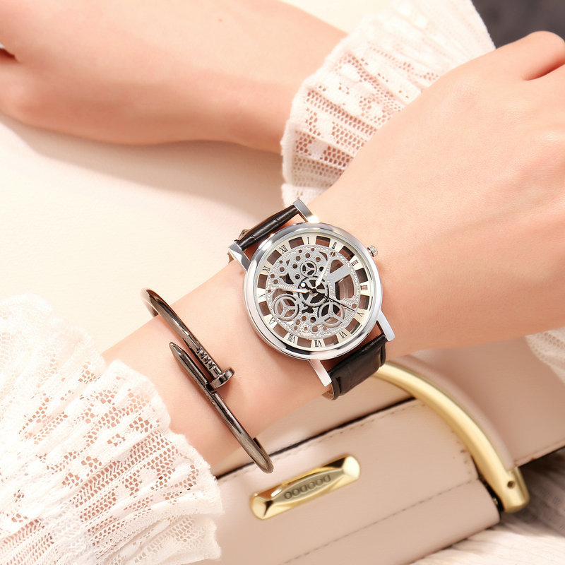Fashion Casual Young Men Women Quartz Watches Luxury Brand Ladies Leather Dress Wristwatches Male Sport Watch Reloj Mujer