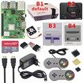 Raspberry <font><b>Pi</b></font> 3 Model B Plus игровой комплект + блок питания + 32G sd-карта + HDMI кабель + теплоотвод + Retroflag NESPi чехол для Retropie 3B Plus