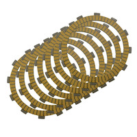 Motorcycle Clutch Friction Plates Set For Kawasaki KLX650 KLX 650 1993 1996 Clutch Lining CP 0009