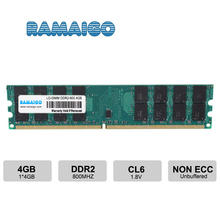 DDR2 4GB Ram 800MHz PC2-6400 Desktop PC DIMM Memory 240 pins For AMD System only or for AMD and Intel все цены