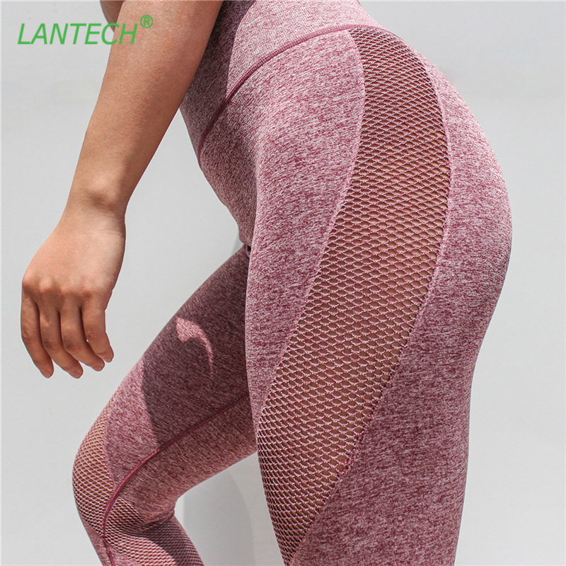 Women/'s Compression Mesh Fitness Leggings Running Yoga Gym Pants Workout Wear US