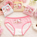 4Pcs/lot Cartoon Lovely Kitty Underwear Baby Girls Character Cotton Underwear Kids Child's Panties For Short Children's Briefs