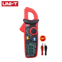 UNI-T UT210B Handheld Mini Digital Clamp Meter True RMS Auto Range AC DC Volt 100A Ohm Capacitance Multimeter oled display true rms inrush digital clamp meter 6000 counts ac dc v a capacitance ohm freq temp vfc ncv flashlight uni t ut216d