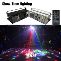 good effect LED patterns laser strobe 4 IN 1 effect light 4 eyes image light good use for DJ disco Club Home entertainment KTV