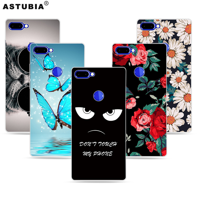 ASTUBIA For Vernee Mix 2 Case Silisone Soft TPU Cute Cat Cover Case sFor Vernee Mix 2 Case For Vernee MIX 2 4gb 64gb 6.0 Cover