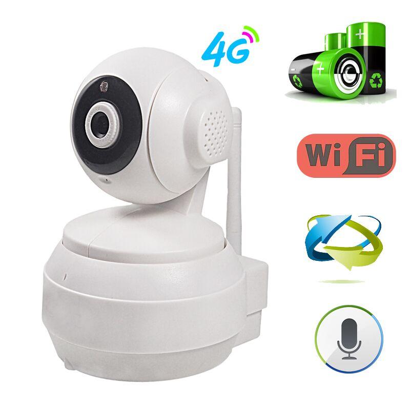 3g 4g Carte SIM GSM Mobile IP Caméra de vidéosurveillance hd 960 p 1.3mp Caméra Vidéo de seguranca Réseau caméra Wifi Batterie Contrôleur ptz