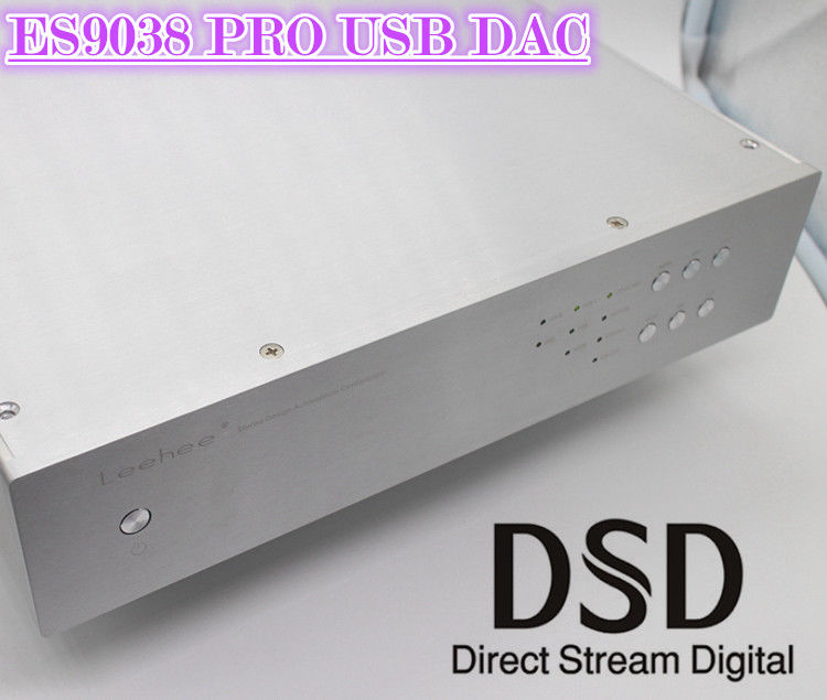 Hi end ES9038 PRO USB DAC HiFi Balanced Audio Decoder Digital to Analog Converter DSD Desktop Amplifier