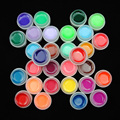 UV Gels 30 PCs/Lot Pure Solid Colors UV Gel Nail Polish Tips Builder For Manicure Nail Art Tools Pedicure Salon