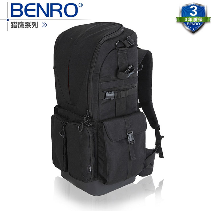 Benro Falcon 400 double-shoulder slr professional camera bag camera bag rain cover штатив benro t 800ex