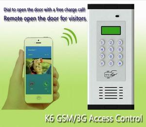 Image 4 - 200 rooms RFID 13.56MHZ & GSM/3G Quad band audio door gate Intercom GSM Residential Gate Access Entry Apartment controller