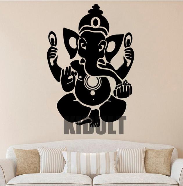 ganesha wall decal ganesha vinyl sticker hindu wall decals wall