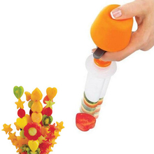 Creative DIY Fruit Salad Carving Vegetable Arrangements Smoothie Cake Tool Kitchen Dining Bar Cooking Accessories Supplies