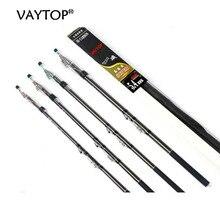 VAYTOP carbon fiber fishing rod spinning  carbon rod Telescopic carbon fiber carp  fishing rod  2.7m 3.6M 4.5M 5.4M 6.3M