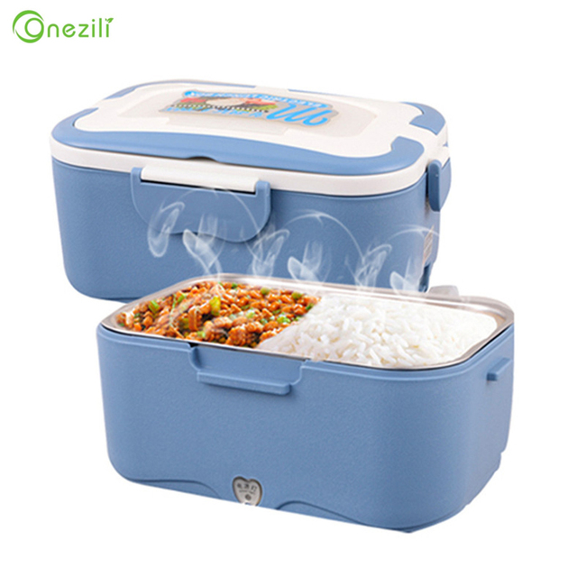 portable electric heating lunch box food cooking machine heating box food heater rice cookers car 1 5
