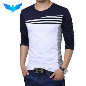 38e645ad21c4 QINGYU T Shirt Tshirt Long Sleeve T-Shirt Men T Shirt