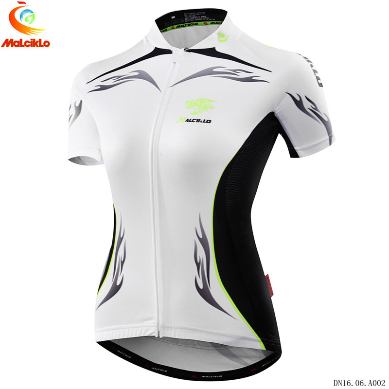 Malciklo Pro Summer Women Cycling Clothing MTB Bike Clothing Bicycle Wear Clothes Ropa Ciclismo Girls Cycle Jersey