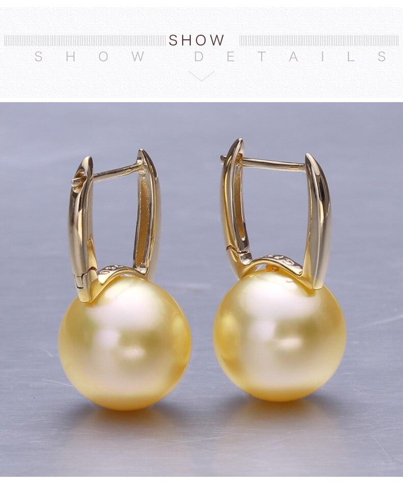 gold southsea pearl earrings jewelry 88