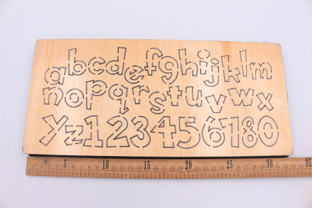 Image 4 - Letter wooden die Cutting Die Suitable for common die cutting machines in the marketCutting Dies
