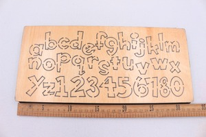 Image 4 - Letter wooden die Cutting Die Suitable for common die cutting machines in the market