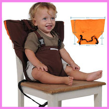 Portable Baby Dinning Chairs Seat Strap Belt Multi-function Baby Car Back Fixed Safety Seat Baby Carrier