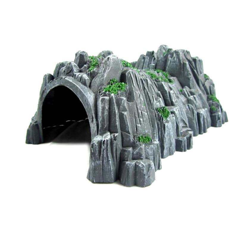 P120 Model Simulation Accessories Scene Tunnel Cave Compatible Wooden Thomas Small Train Track Accessories
