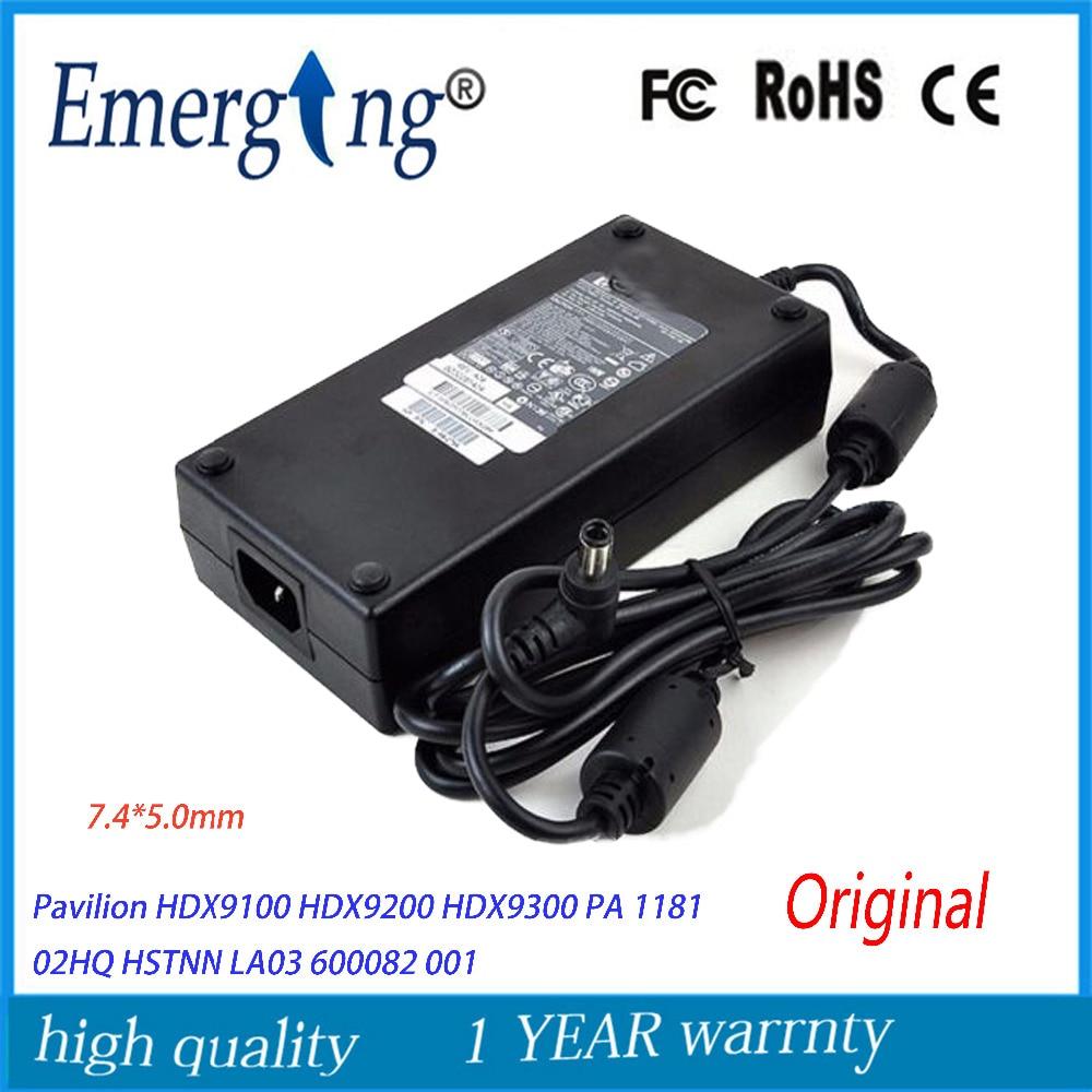 Original 19 V 9.5A 180 W 7.4*5.0mm adaptateur pour ordinateur portable chargeur pour HP pavillon HSTNN HA03 5189 2784 ADP 180HB PA 1181 02-Original 19 V 9.5A 180 W 7.4*5.0mm adaptateur pour ordinateur portable chargeur pour HP pavillon HSTNN HA03 5189 2784 ADP 180HB PA 1181 02-