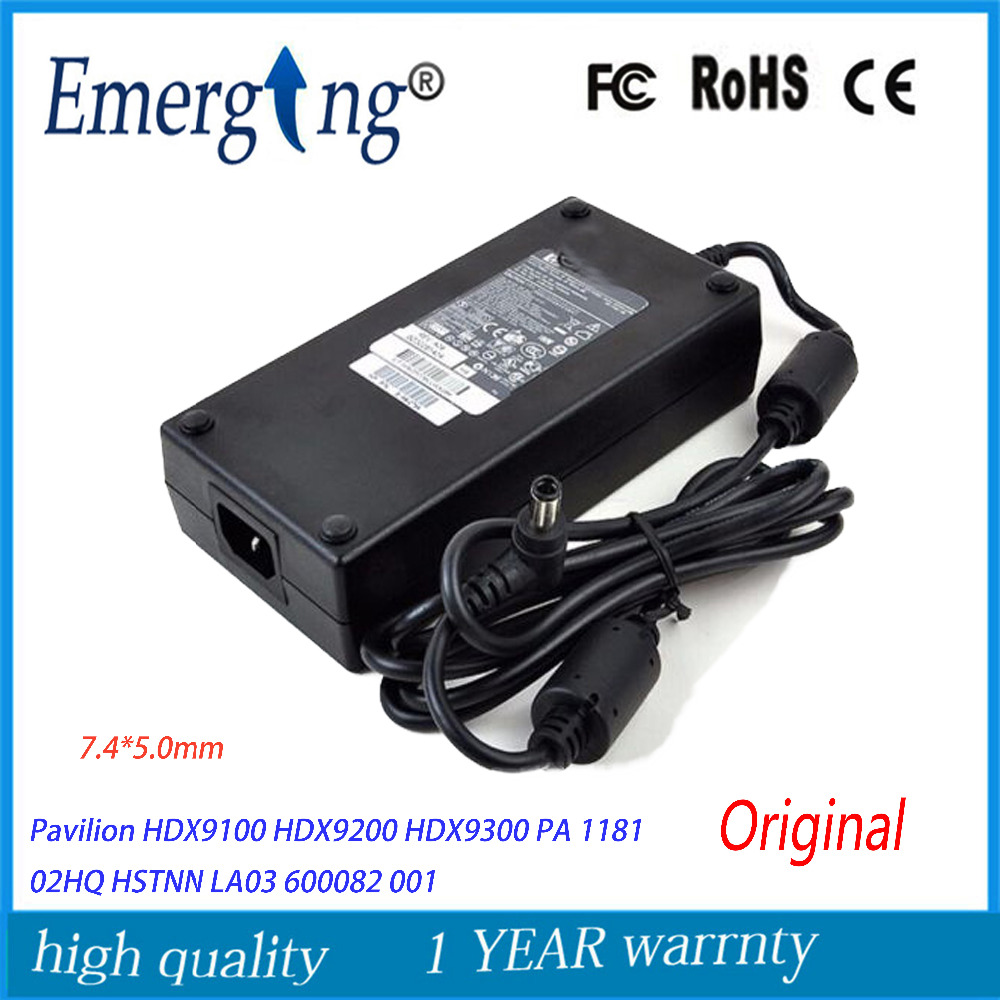 Original 19V 9.5A 180W 7.4*5.0mm Laptop Adapter Charger For HP Pavilion HSTNN HA03 5189 2784 ADP 180HB PA 1181 02- 19v 9 5a 180w adapter adp 180hb b for msi gt60 gt70 power charger for asus g55vw g75vw g75vx g750 g750jw g750jx