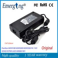 Original 19V 9.5A 180W 7.4*5.0mm Laptop Adapter Charger For HP Pavilion HSTNN HA03 5189 2784 ADP 180HB PA 1181 02