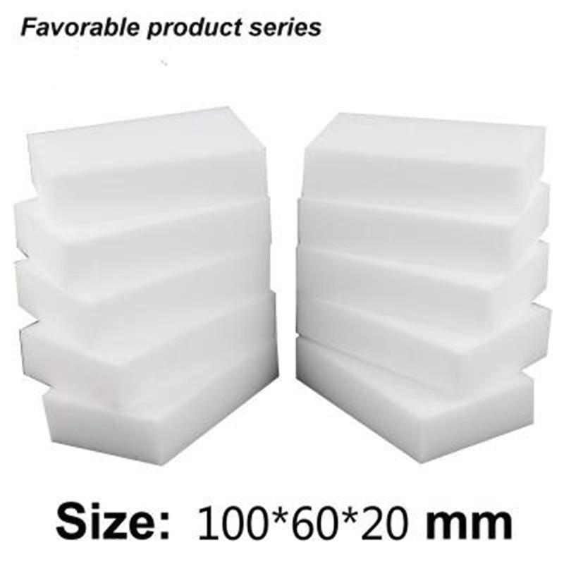 Image 3 - 100pcs/lot 10*6*2cm Magic Sponge Cleaner Super Decontamination Eraser Melamine Kitchen Office Bathroom Nano  Cleaning Tool-in Sponges & Scouring Pads from Home & Garden