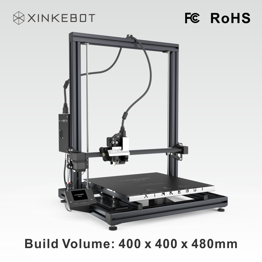 XINKEBOT Orca2 Cygnus Industrial Size 3D Printer with Best Quality Printer Parts Supporting Multi printing
