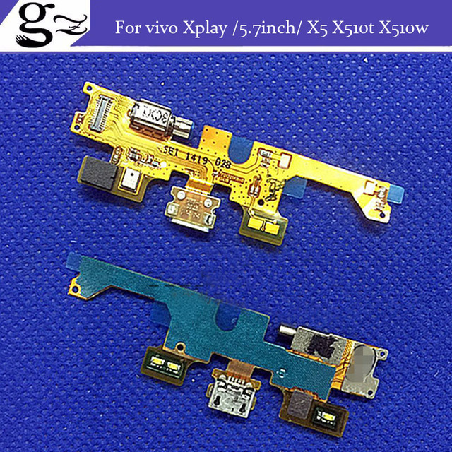 replacement USB plug charger sub board  cable For vivo Xplay 5.7inch X5 X510t X510w;2PCS/LOT